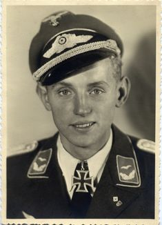 Erich Hartmann was a German fighter pilot during World War II and is the highest-scoring fighter ace in the history of aerial warfare. He claimed 352 aerial victories. Nagasaki, Hiroshima, Luftwaffe, German Soldiers Ww2, German Army, World History, World War Ii, Fighter Pilot, Interesting History