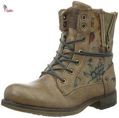 Mustang 5026-616, Bottes Fille, Marron (Natur), 33 EU - Chaussures mustang (*Partner-Link)