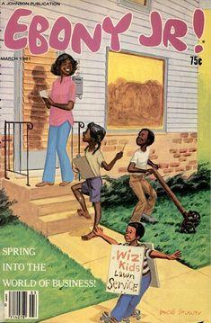 Ebony Jr! magazine, March 1981