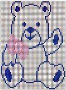 "Клуб ""Вязание и рукоделие"" Kids Rugs, Home Decor, Cross Stitch Baby, Cross Stitch Embroidery, Tricot, Projects, Bears, Dots, Bebe"
