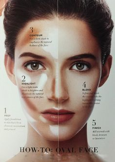makeup for oval face - Google Search