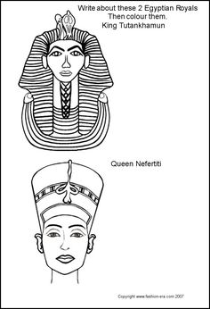 Ancient egypt hieroglyphics ancient egypt and templates for King tut mask template