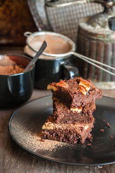 Brownie moelleux au chocolat et noix de pécan