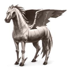 superanni ;), Pegasus Element Metall #63936372 - Howrse