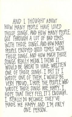 "My Favorite ""The Perks of Being A Wallflower"" Quotes"