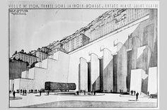 Urbanisme / Dossier du plan d'extension, d'embellisement et d'aménagement de la ville de Lyon    Tunnel de la Croix-Rousse