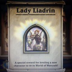 The new hero is sick totally worth the afternoon grind #hearthstone #hearthstoners #hsdailyfeature #blizzard #blizzard2016 #blizzardentertainment #tavernbrawl #tcg #ladyliadrin #battlenet by bluejaywoods