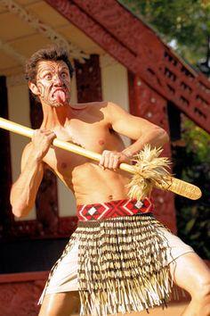 Maori Warrior at the Aotearoa (New Zealand) Village at the Polynesian Cultural Center, Oahu, HI Polynesian People, Polynesian Culture, Polynesian Cultural Center, Maori People, Village Photos, Aboriginal Culture, Dark Men, Maori Art, The Beautiful Country