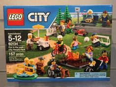 60134 LEGO City Fun in the Park City People Pack Box