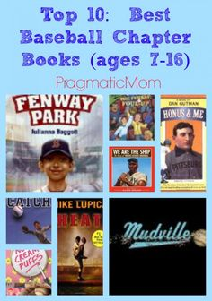 Top 10: Best Baseball Chapter Books (ages 7-16) :: PragmaticMom