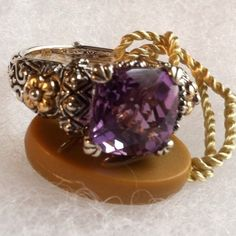 Barbara Bixby Amethyst Ring SZ9 Retail 245 00 for sale $129.00 at giaconis-boutique.com