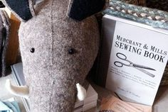 Boar and Sewing book...