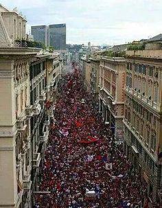 Il popolo rossoblu