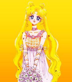 Usagi-Original Sailor Moon Art Work By Naoko Takeuchi
