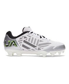Under Armour Womens UA Finisher MC Lacrosse Cleats 9 White *** Want additional info? Click on the image.(This is an Amazon affiliate link)