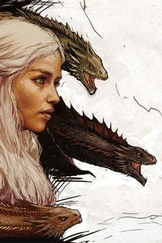 Game of thrones fanart wallpaper. Khaleesi, Mother of Dragons. Dessin Game Of Thrones, Game Of Thrones Artwork, Game Of Thrones Dragons, Got Game Of Thrones, Khaleesi, Daenerys Targaryen, Dragon Wallpaper Iphone, Game Of Throne Daenerys, Game Of Trones