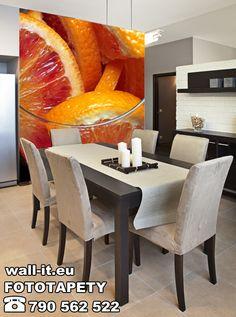 Fototapeta do kuchni plastry pomarańczy. http://www.wall-it.eu/product/photowallpapers/kuchenne/fototapety-kuchenne-pomarancze.jpg #fototapeta #fototapety #mural  #murals #owoce #pomarancze #kuchnia #kitchen #orange #wnetrze