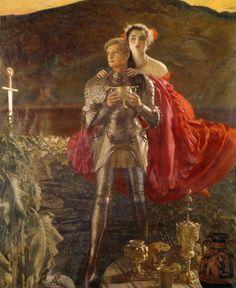Frank Cadogan Cowper - The Legend of Sir Perceval
