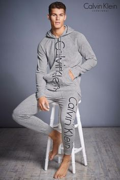 Your man is sure to love this uber cool Calvin Klein Hoody, perfect for those chill out days together
