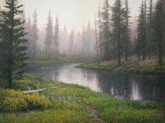 Artist: Jack Braman. Medium Acrylic.  Mockingbird Gallery