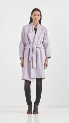 Avelon // Bahuku Coat in Cool