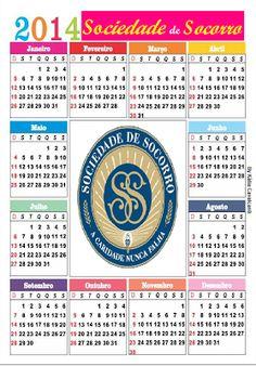 Sociedade de socorro virtual...: CALENDÁRIO 2014 DA SOCIEDADE DE SOCORRO