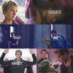 And that hardest goodbye is Tris! #divergent #insurgent #allegiant