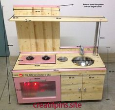 how to build toy kitchen - tutorial