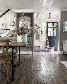 Home Decor Scandinavian .Home Decor Scandinavian Farmhouse Interior, Farmhouse Homes, Farmhouse Design, Farmhouse Style, Rustic Farmhouse, Modern Farmhouse Kitchens, Industrial Farmhouse, French Cottage Kitchens, Rustic Country Kitchens
