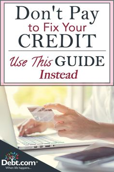 Get free credit help with our credit relief guide and learn how to fix your credit score on your own without incurring added costs. Here's a simple, all-important fact about credit in the U.: Nothing in credit lasts forever, so you can always reco Fix Bad Credit, How To Fix Credit, Build Credit, Chase Credit, Free Credit Repair, Credit Repair Services, Repairing Credit Score, Best Credit Repair Companies, Free Credit Score