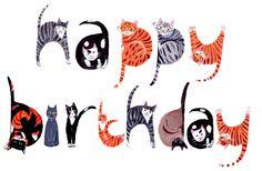 Happy birthday cats - Happy Birthday Funny - Funny Birthday meme - - Happy birthday cats The post Happy birthday cats appeared first on Gag Dad. Happy Birthday Cat Images, Birthday Wishes Funny, Happy Birthday Quotes, Cat Birthday, Happy Birthday Greetings, Birthday Messages, Humor Birthday, Sister Birthday, Birthday Ideas