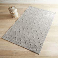 Moorish Tile Dove Gray 6x9 Rug