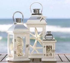 beach wedding centerpieces lanterns