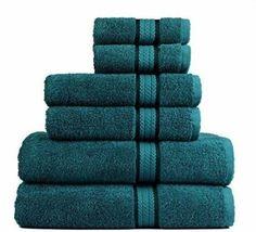 Hugo Boss Embossed Terrycloth Turquoise//Aqua Cotton Beach Towel