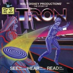 Tron Read-Along Book And Record.   I loved these as a kid.