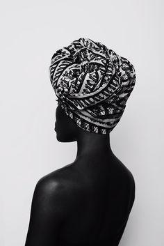 Foulard cheveux afro crépus