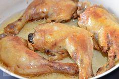 Pulpe de pui cu ciuperci si smantana - CAIETUL CU RETETE Jamie Oliver, Shrimp, Chicken, Meat, Food, Essen, Meals, Yemek, Eten