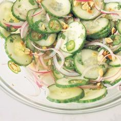 Spicy Cucumber Salad with Roasted Peanuts | Williams-Sonoma