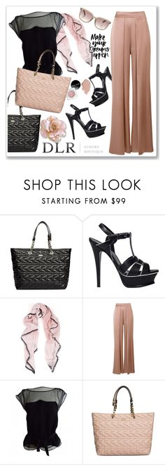 """""""''DLRBOUTIQUE.COM''"""" by ruza-b-s ❤ liked on Polyvore featuring Karl Lagerfeld, Yves Saint Laurent, Cushnie Et Ochs and Louis Vuitton"""