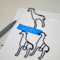 Giraffe Paper Clips