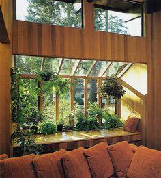 Interior Design and Architecture : Photo 80s Interior Design, Interior And Exterior, Mid Century House, House Rooms, My Dream Home, Decoration, Future House, Interior Architecture, House Design
