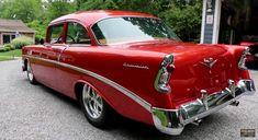 1956 Chevy Bel Air, Chevrolet Bel Air, Chevy Pickups, Chevy Camaro, Chevelle Ss, Rat Rod Girls, Car Girls, American Dream Cars, Gm Car