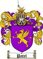 Patel Coat of Arms / Patel Family Crest