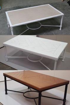 mesa camilla madera sube y baja