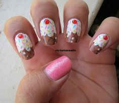 Cupcake nails @Luuux