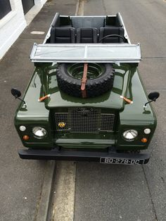 https://flic.kr/p/GZv3wu | Land Rover Series Bronze Green