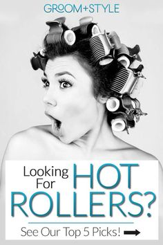 Make no mistake, today's rollers are nothing like the ones your mother or grandmother slept in overnight or wore under a huge beehive-shaped hair dryer at the beauty salon. Modern hot rollers are convenient, simple to use – and do an amazing job creating a headful of luscious curls while protecting against dried-out hair and long-term damage. #hotrollers #haircurling Curled Hairstyles, Cool Hairstyles, Hot Roller Styles, Roller Set, Hot Roller Tips, Styling Tools, Lob Styling, Travel Hot Rollers, Medium Hair Styles