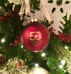 Our trees are trimmed with special 50th Anniversary decorations.