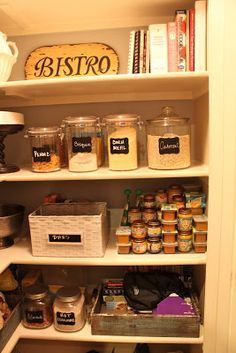 I like it, I love it!: Pantry Re-do!: Project 1 of 1,777