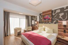 """Doppelzimmer """"Almrausch"""" im Hotel Almrausch**** - das persönliche 4-Sterne-Genusshotel www.almrausch.co.at Ski Lift, Spa, Centre, Hotels, Europe, Furniture, Home Decor, Beauty, Double Room"""